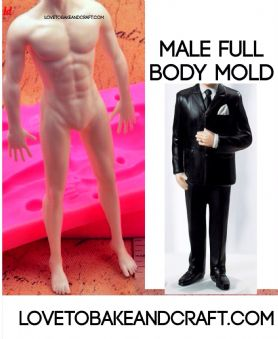 Man mold, groom mold, male mold, people mold, man silicone mold, man mould, groom mould, free worldwide shipping